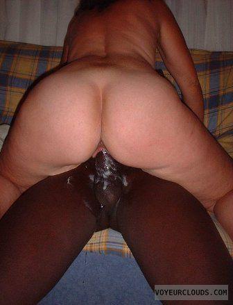 Big white ass nude