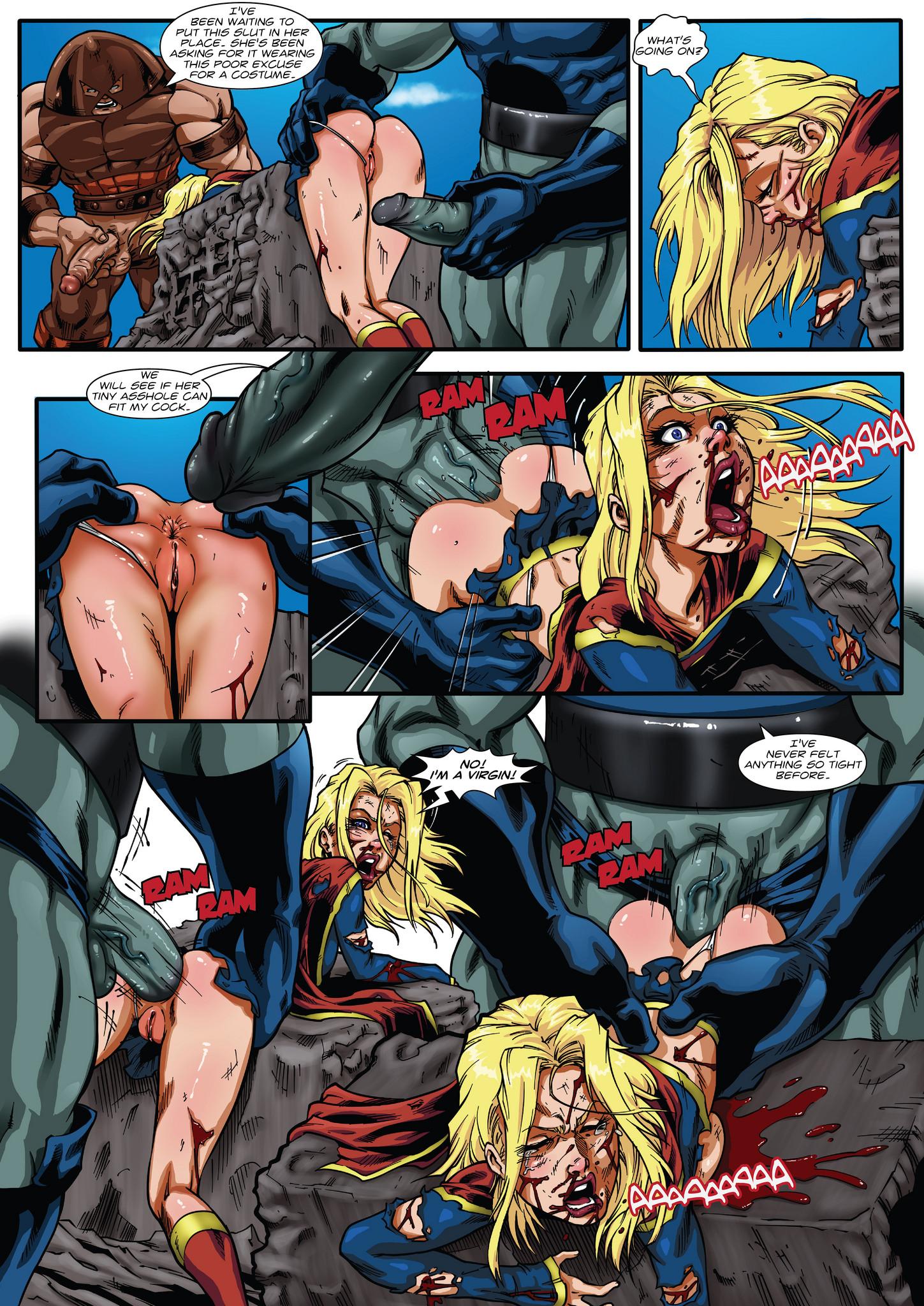 Supergirl fucked hentai