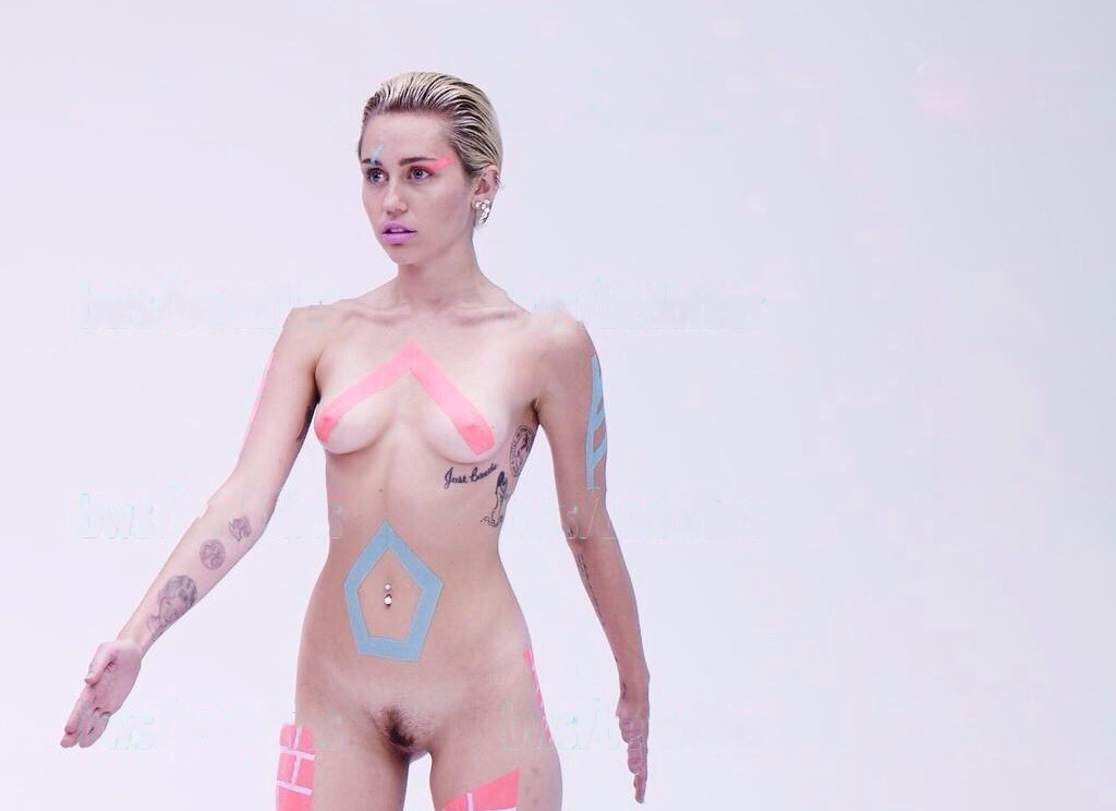 cyrus uncensored picture miley nude