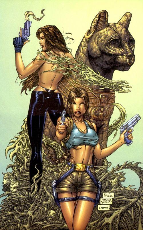 Lara croft tomb raider sex comic