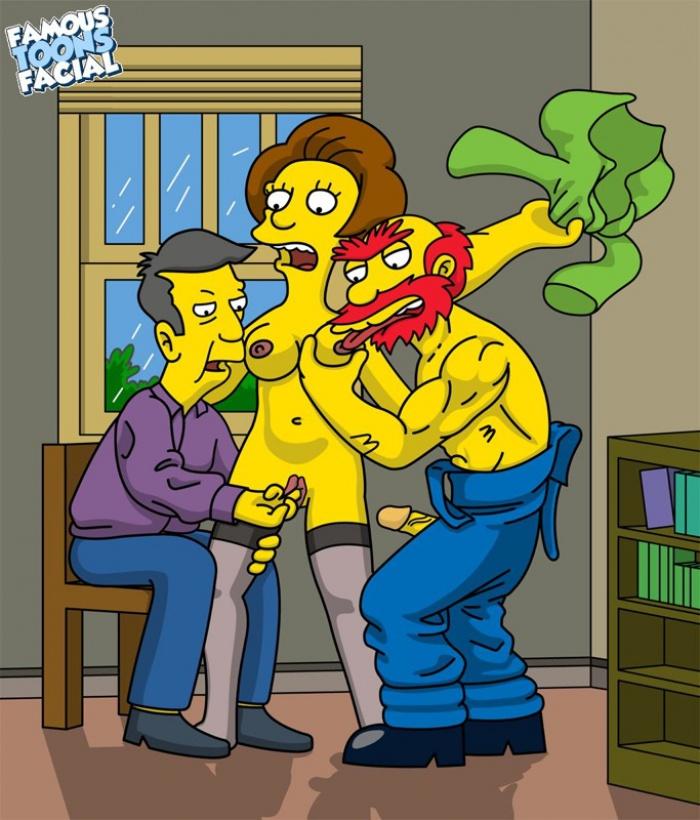 Simpsons edna krabappel hentai