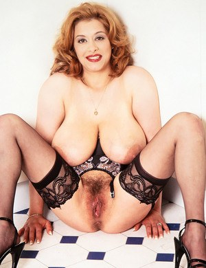 Big tits hairy pussy