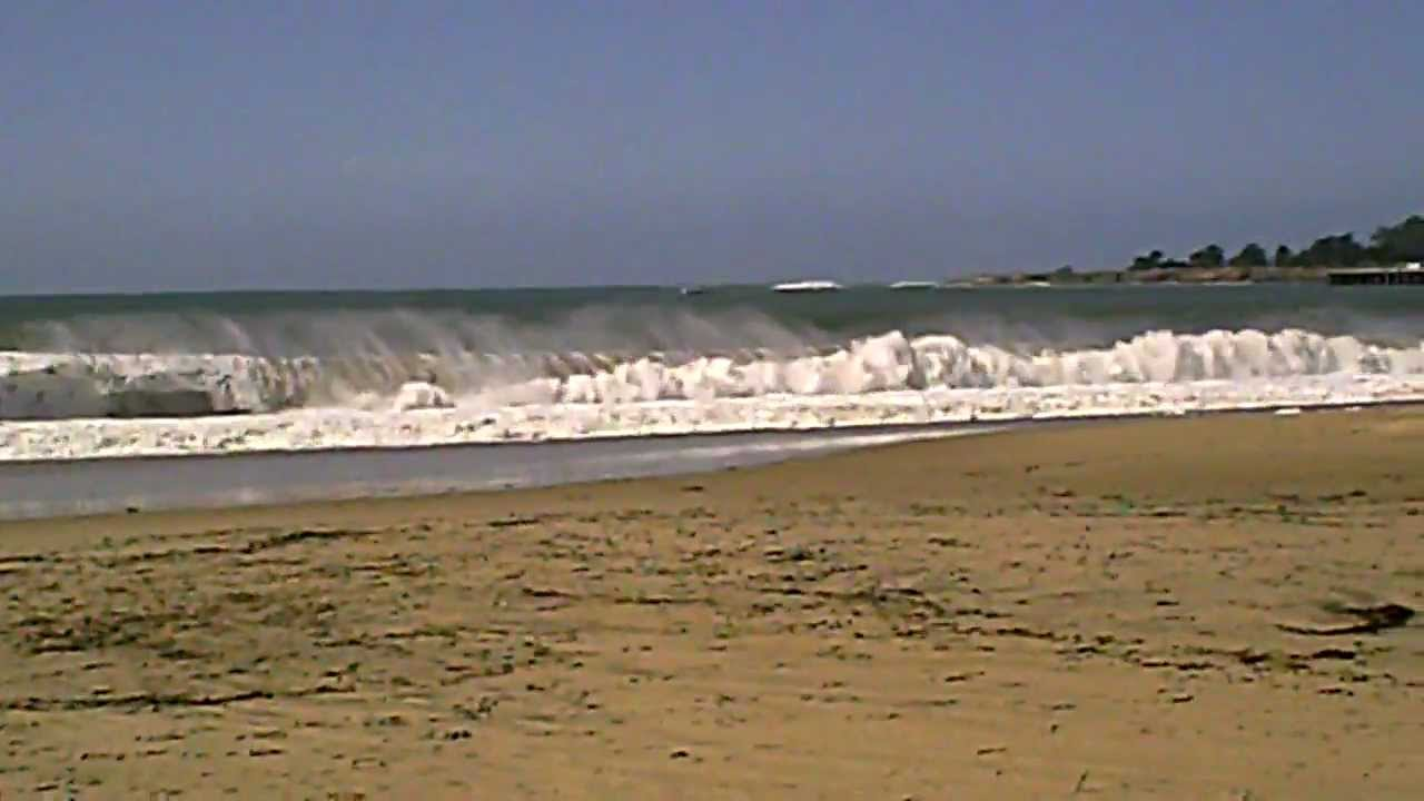 santa ca cruz beach bright Sea