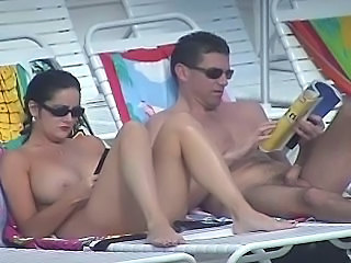 Nude beach big boobs milf