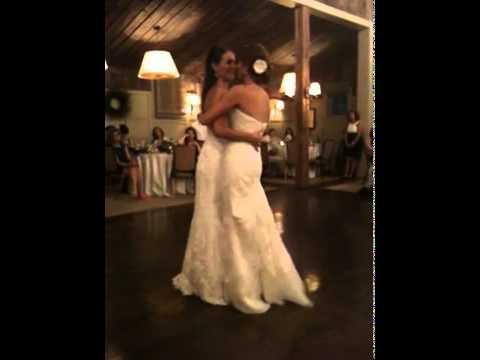 Sexy lesbian wedding