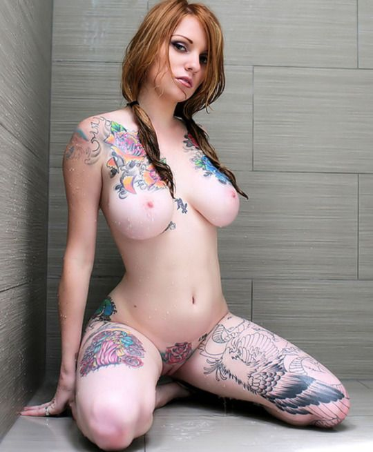 Nude girls with tattoos