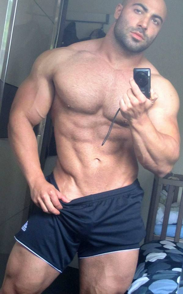 Sexy muscle boy chest