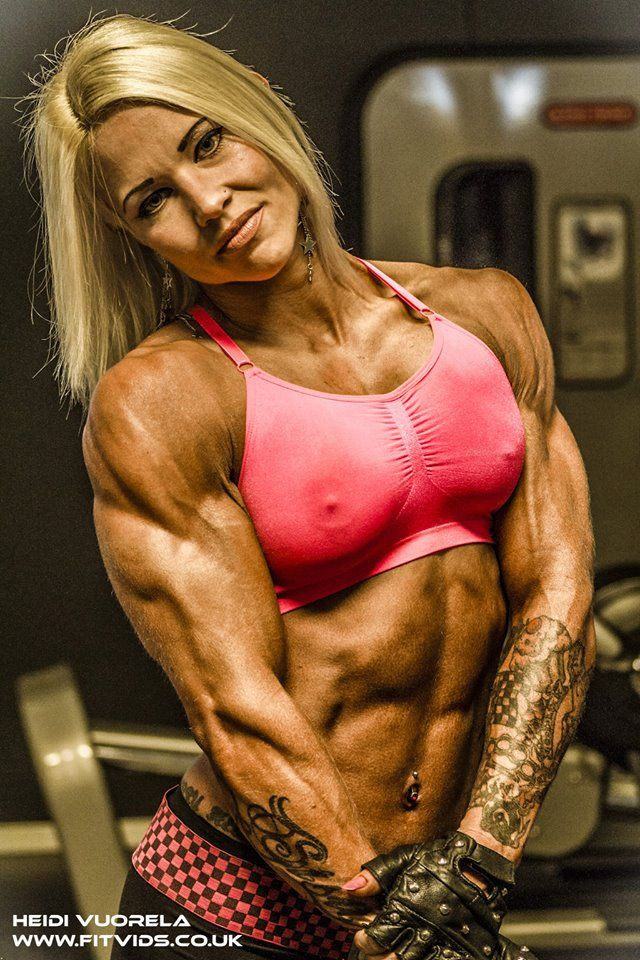 Women bodybuilder sexy muscle girls