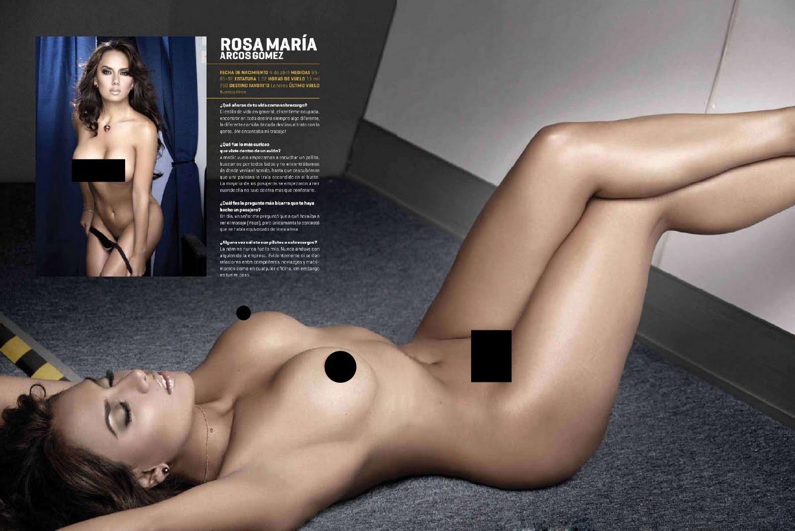 Playboy mexicana flight attendants nude