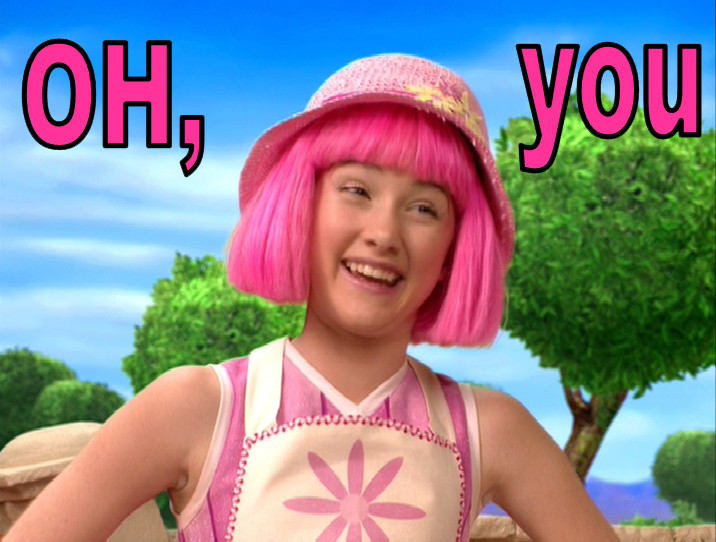 Fake Naked Lazy Town