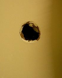 Glory hole wall