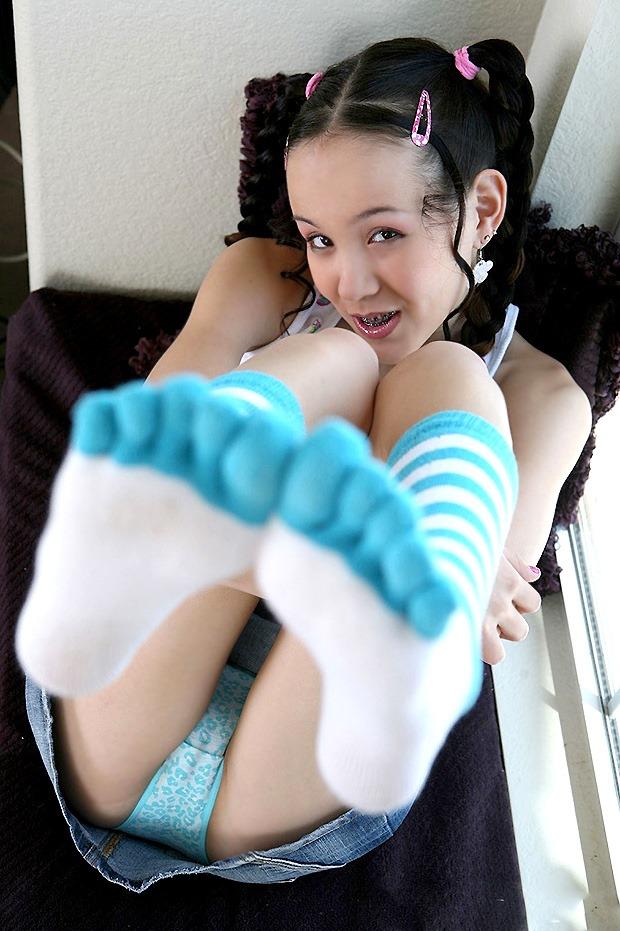 Tiny tabby porn socks