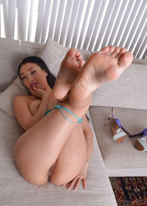 Asian foot fetish porn