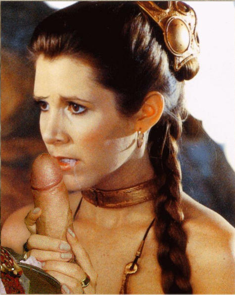 Star wars carrie fisher nude