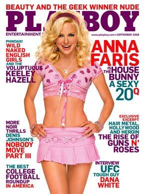 Sex with anna faris playboy