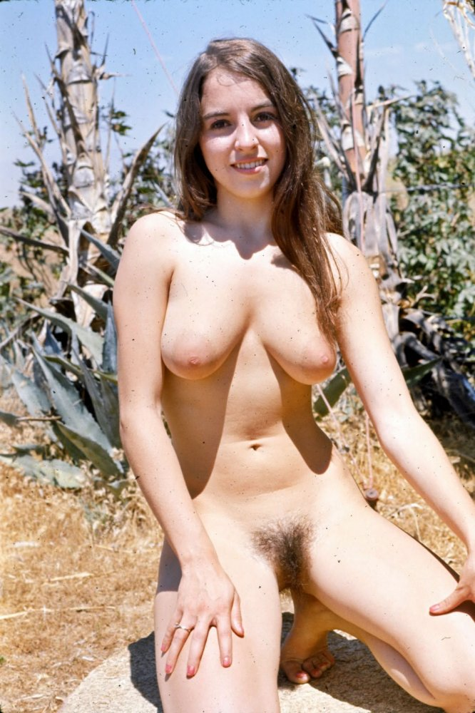 Vintage amateur nude beach girls