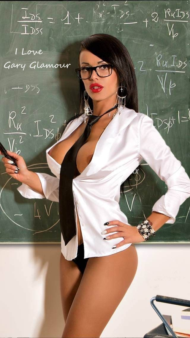 with having glasses Sexy girl sex college
