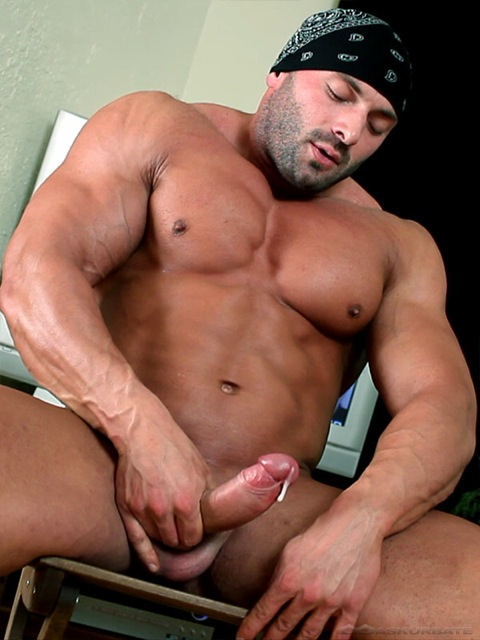 Gay big dick muscle men