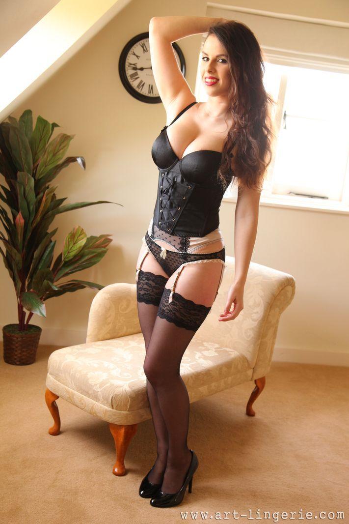 Art lingerie stockings garters