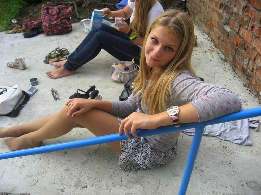 Young russian teen pantyhose