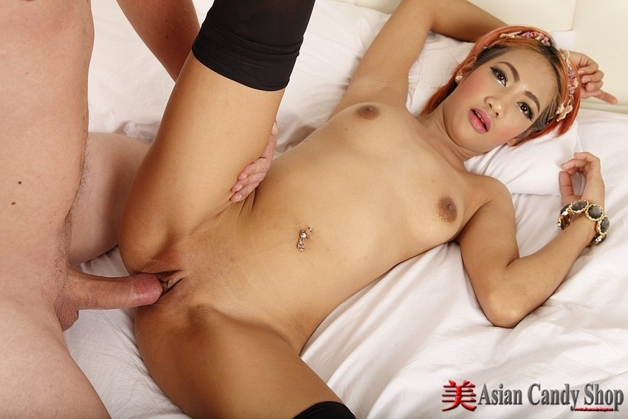 Porn of asian candy shop girls