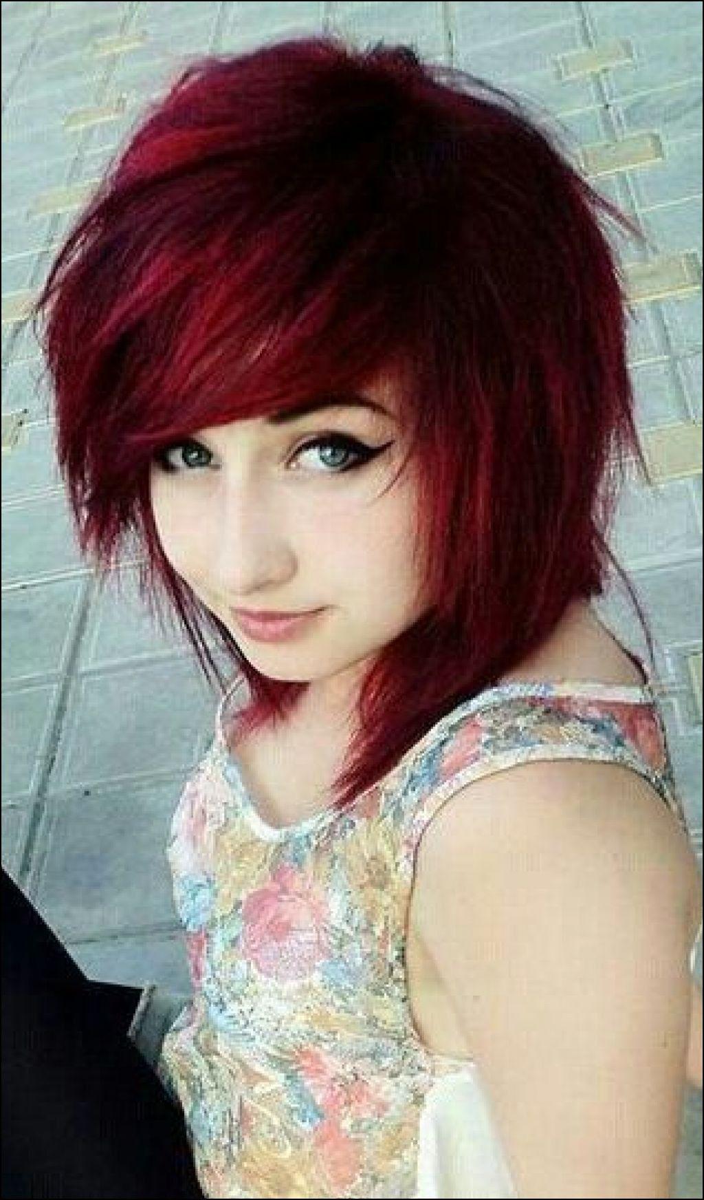 emo medium for girl Cute hair hairstyles