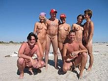 Beach nudist naked