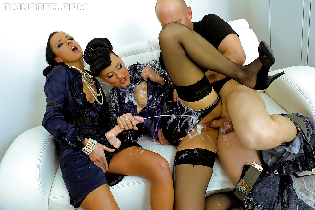 Kinky group sex porn