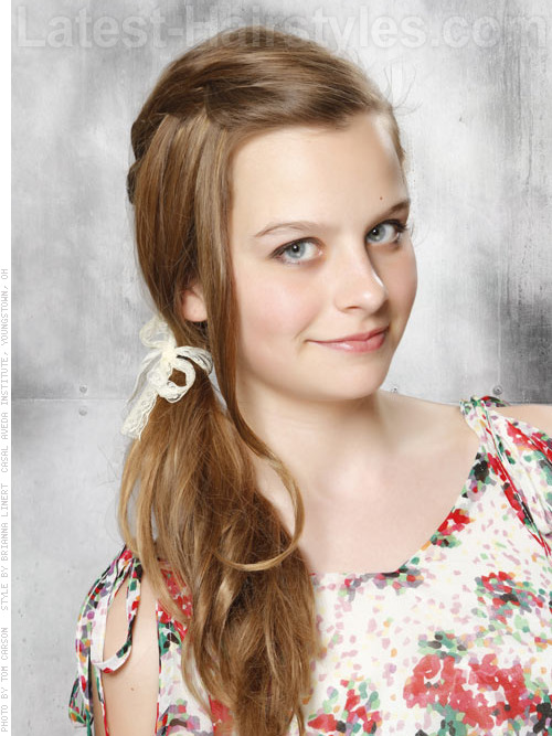 Beautiful teen hairstyles