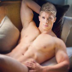 guys blonde Hot shirtless