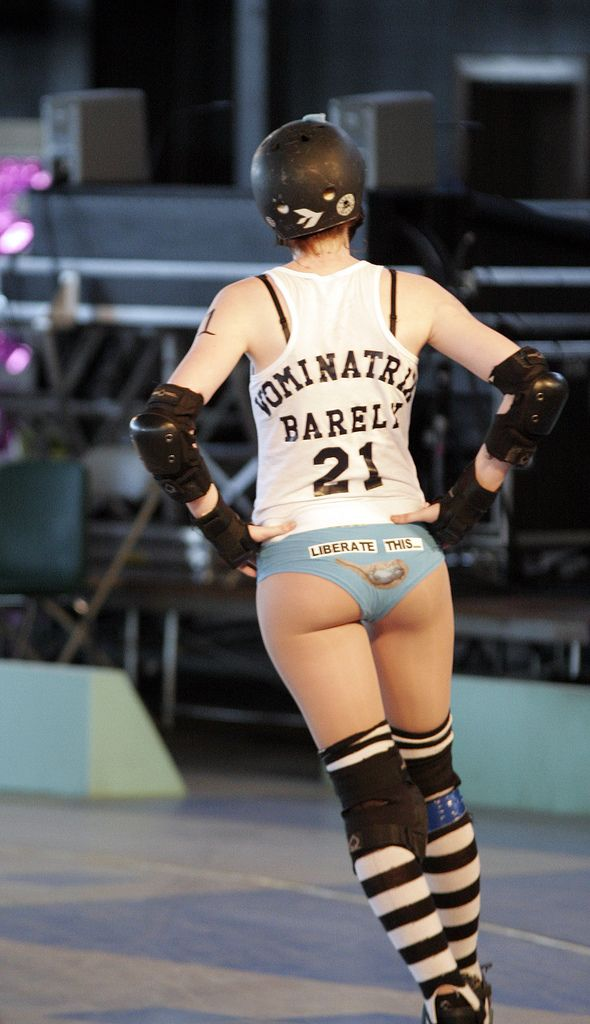 Hot roller derby girls nude