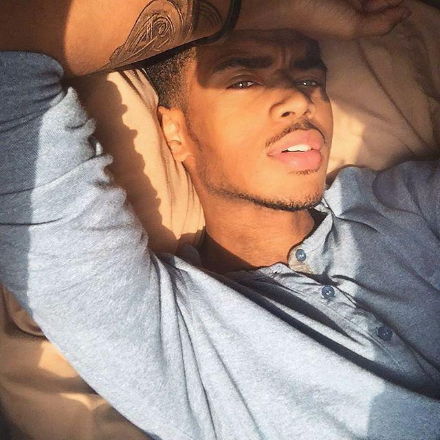 Sexy light skinned black boys ass