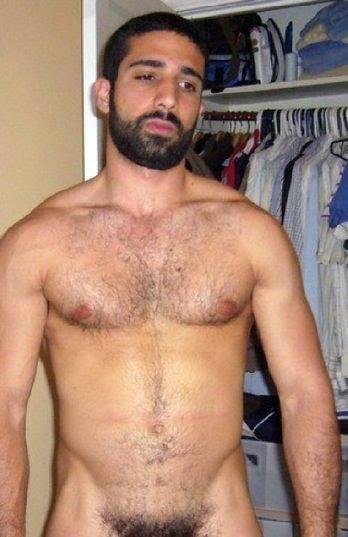 Nude middle eastern men