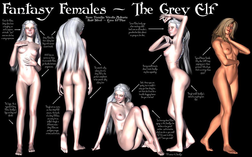elf nude Fantasy woman