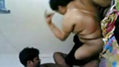 Indian aunty and boy sex