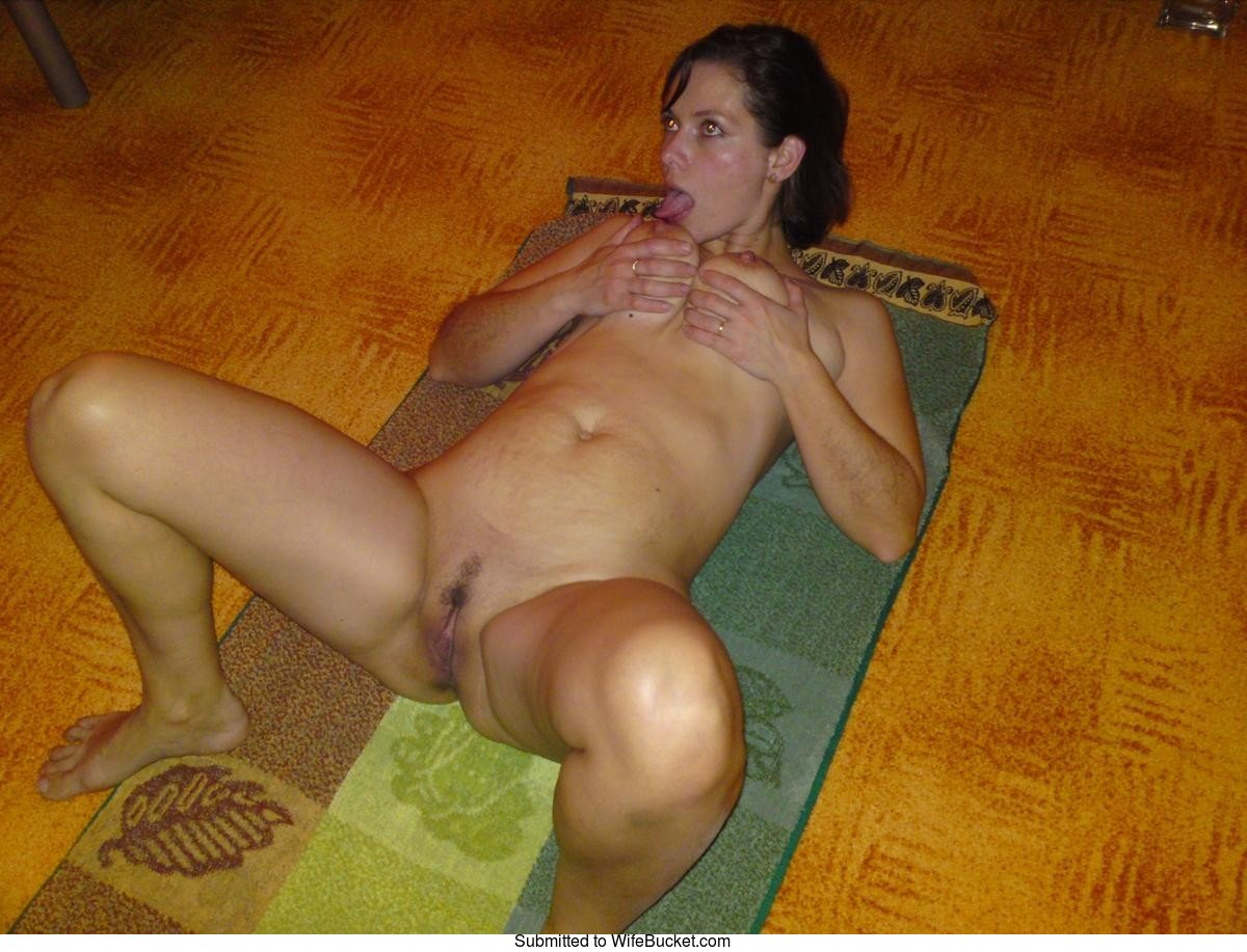 Crazy wife bucket nude