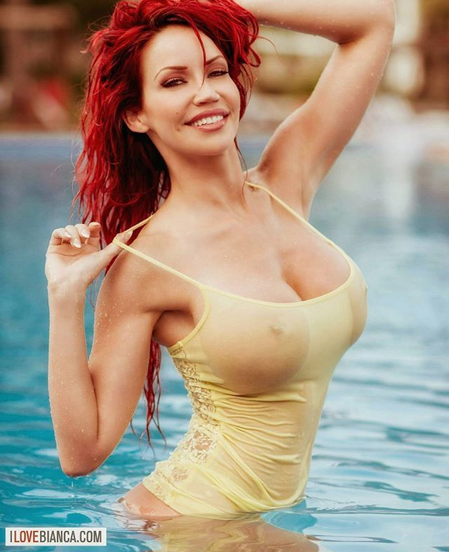 Hot women naked in the water