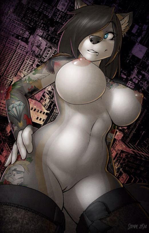 Big boob furry hentai wolf