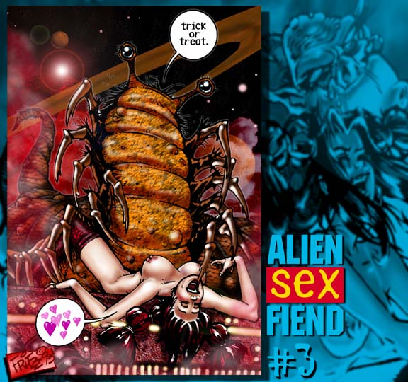 Alien sex comics
