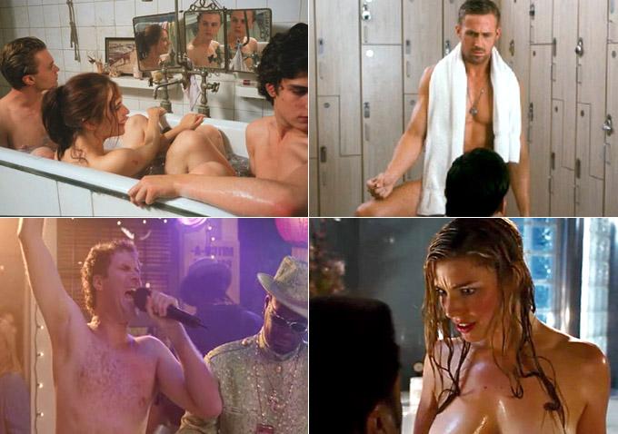family sauna nude Naked