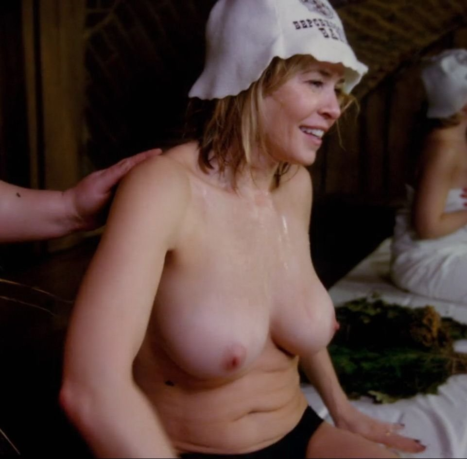 Chelsea handler topless nude