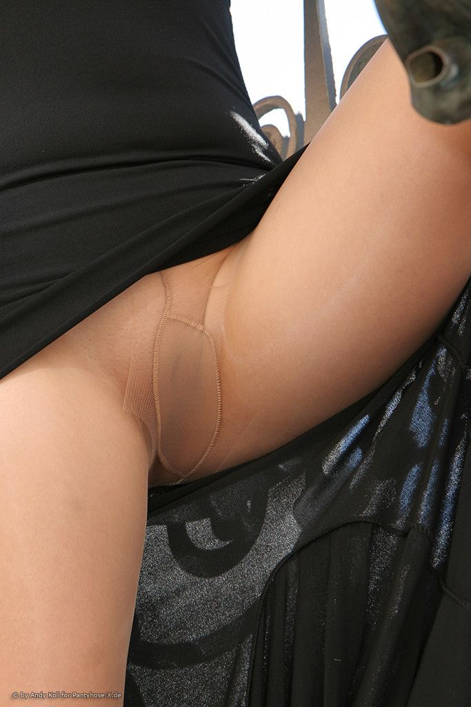Wife pantyhose cum