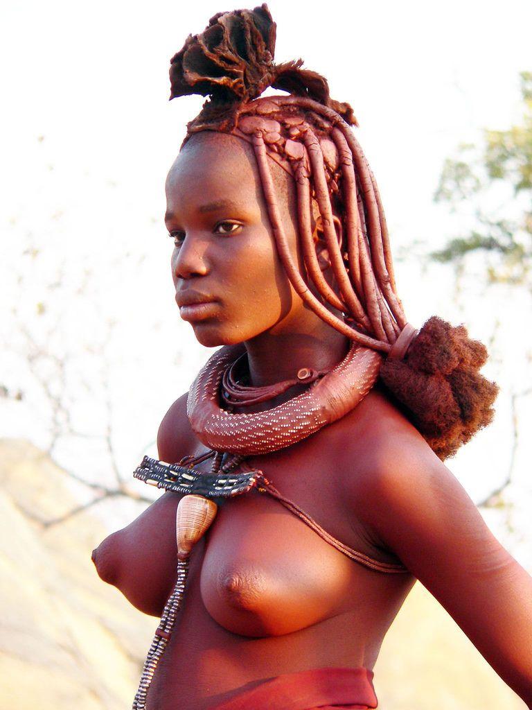 Native african woman big boobs