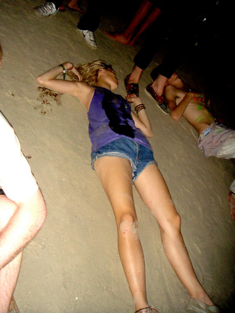 Drunk teen party