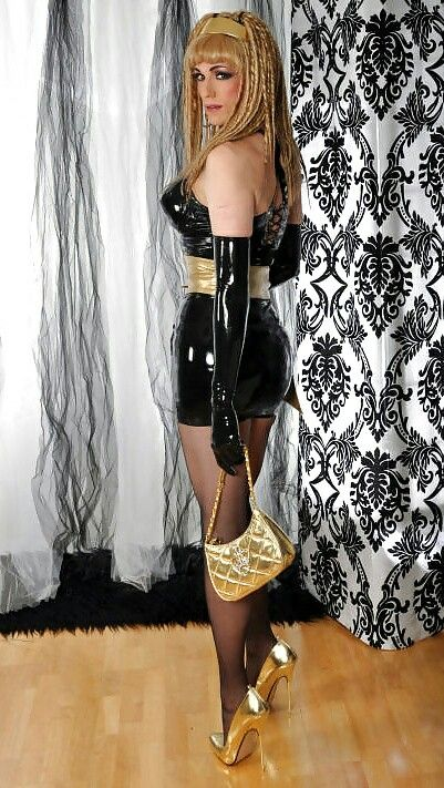 Sex queen sissy drag