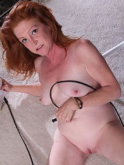 Mature nude redhead red hair