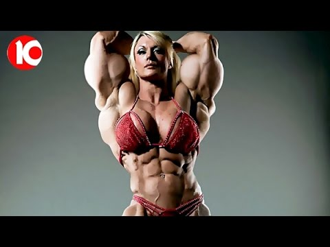 bodybuilder Woman female