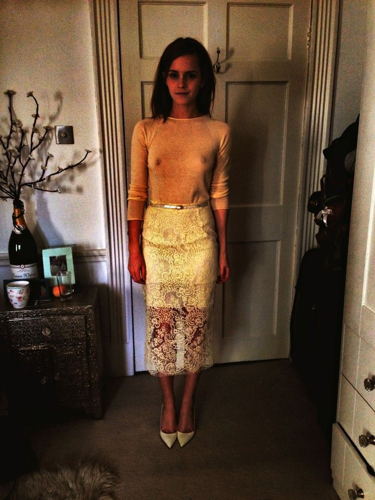 Emma watson see through