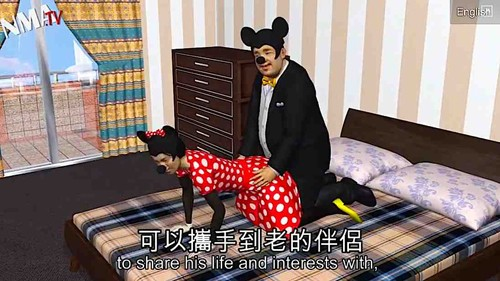 Mickey mouse sex with caption