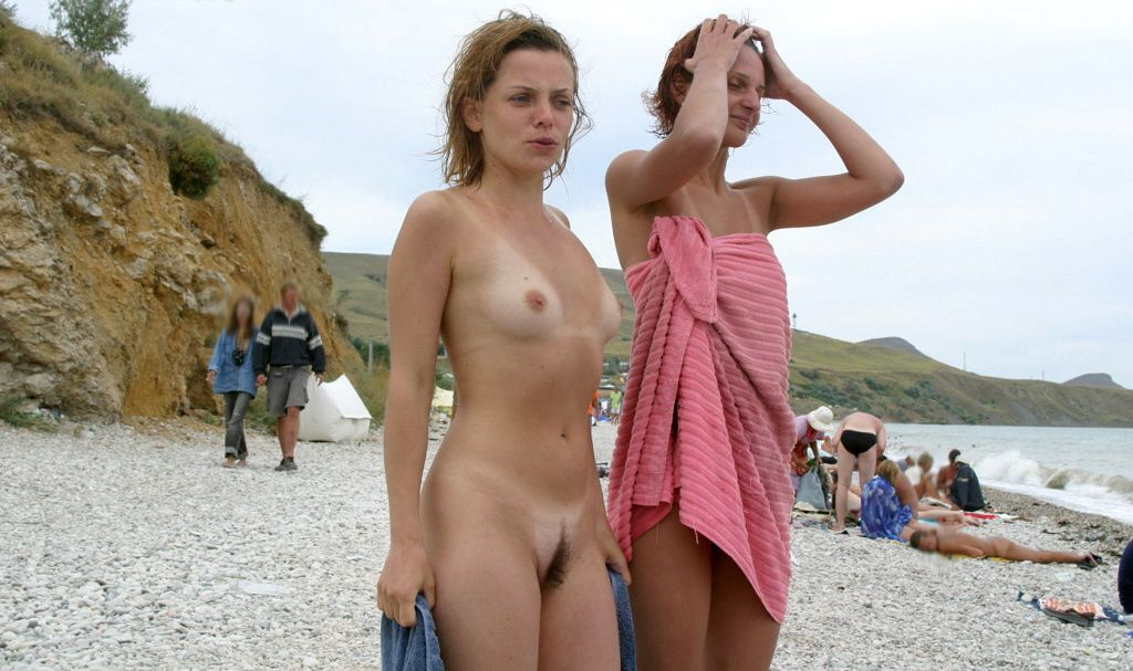 Nude Girls On Beach Video